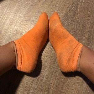 Worked in socks